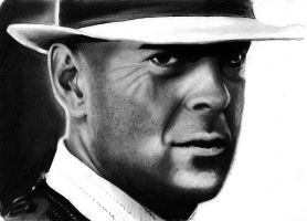 Bruce Willis by Spydi-mel