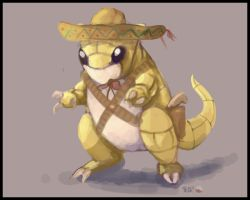 Sandshrew the Pistolero by BPezzillo