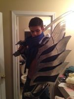 Yasuo The Unforgiven Cosplay Progress by Winged-Mouz