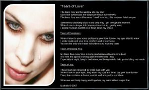 Tears Of Love by VisualPoetress