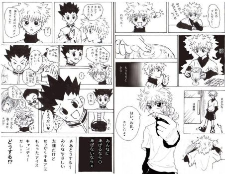 killuas ice candy story by panchan77