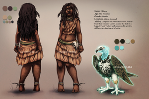Chikere Ref by soulwithin465