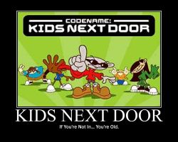 Kids Next Door Motivator by Fin-McCloud
