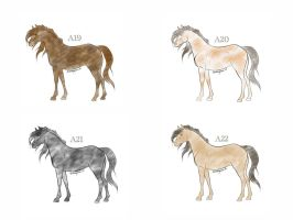 Horse Adoptables by Julia-adopts