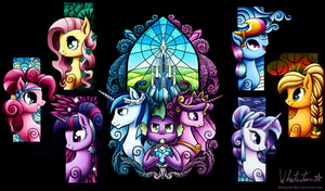 Crystal Empire Wallpaper by Whitestar1802