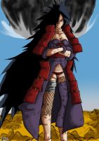 Genderswap Madara by Oddmachine