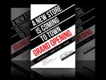 New Store Grand Opening Flyer by soulmemoria