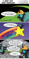 A Short Comic About Changelings by Pony-Berserker