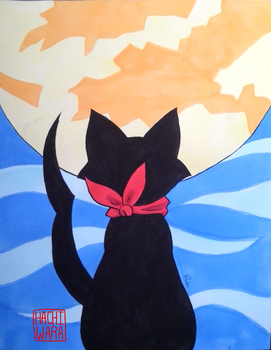 The Black Cat by Hachiwara