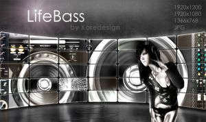 LifeBass Wallpaper by Koredesign