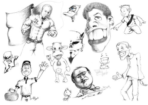 Just a pencil actions by ZOSER