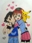 I Choose You, Ash! by Blossom-Of-Dreams