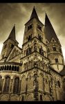 Romanesque Church by sylaan