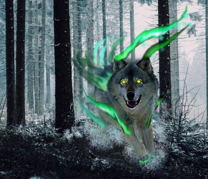 Mystical Wolf by Elso12
