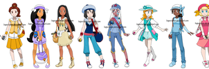 Pokemon Princesses 10 by Hapuriainen