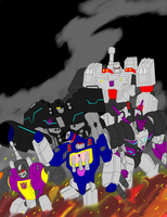 The Decepticon war machine by TheReaper111