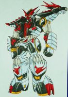 PR DOUBLE DYNASTY step 3: MASTER MEGAZORD by kishiaku