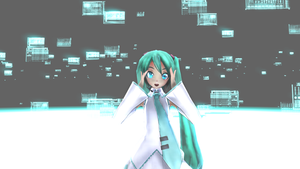 The Intence Singing Of Hatsune Miku by miku737
