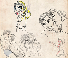 Sketch dump JerryxPeter FN by nupao