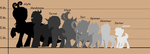 Updated Breezie Grotto Height Chart by FuyusFox