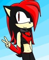 Sonic riders-Lexi by LexitheHedgehog28