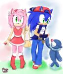  Sun and Moon  Sonic and Amy by Cometshina