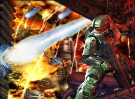 Halo: The Fight Back Home by sharishyan