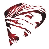Afghani Woman stencil by Gingybreads