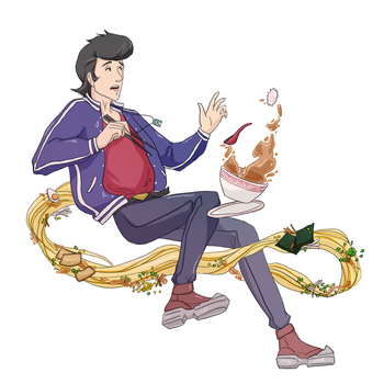 space dandy! by epohart