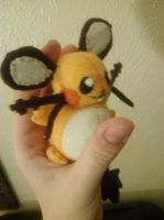 Dedenne Plush by Vulpes-Canis