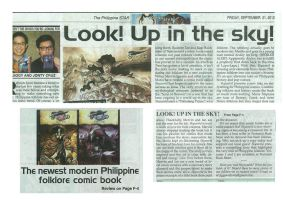 Skyworld in the Philippine Star by Iantoy