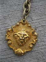 Lion Heart Chain Belt by calley14