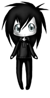 Jeff the Killer Chibi by xVanessa-the-Killerx