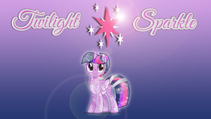 Wallpaper #1: Twilight Sparkle by InfiniteWarlock