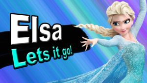 Elsa for Super Smash Bros 4 by Rylade475