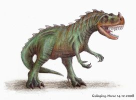 Ceratosaurus by RivenPine