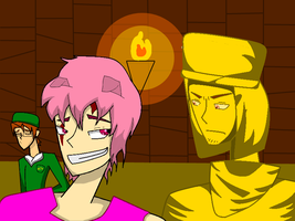 Piggeh, Stephano, and Mr.Chair by Bubblysammich18