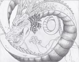 Almighty Shenron by rilocybe