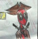 Deadpool pirate by abdiel13
