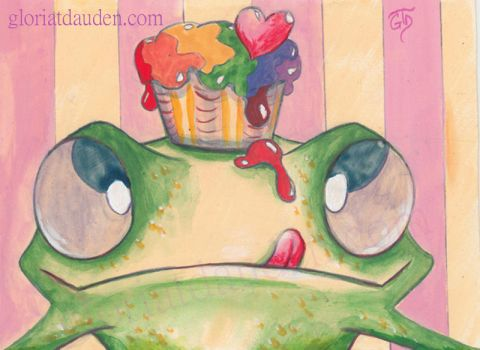 Sweet frog by Gloria-T-Dauden
