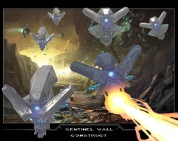 Sentinel Wall Construct by drskytower