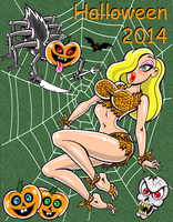happy-halloween-2014 by 1sickSOB