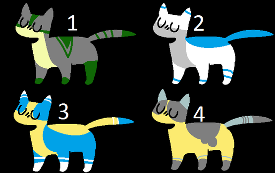 Adopts (10 points) by BubblesTheCatX3