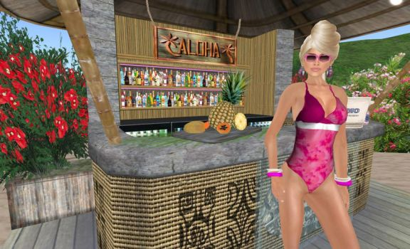 Aloha from Secondlife by theuglycrow