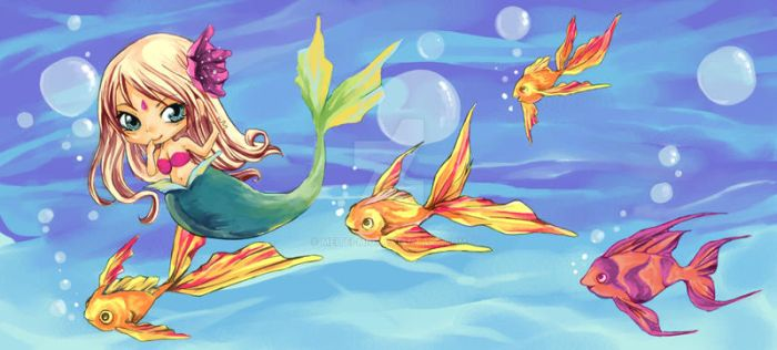 ..: Under the Sea :.. by meitei-miu