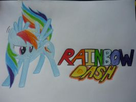 RainbowDash! by YellowRainbow20
