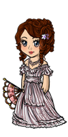 Miss Jane Austen by fuzeWoRld14