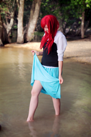 Ariel The Little Mermaid cosplay by kanamecosplay