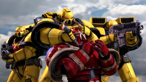 Imperial Fists Cutthroat by DrZestarooni