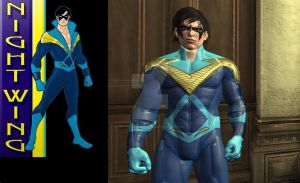 1980s Nightwing Final by MrJustArkhamGames